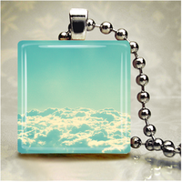 Cloudscape 1 Glass Pendant by HipsterDesigns