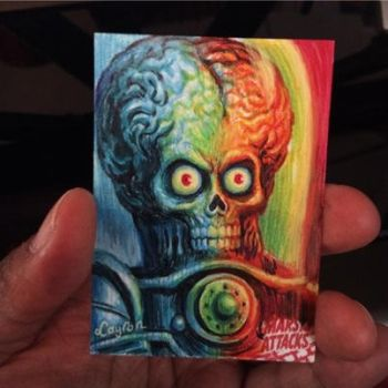 Mars Attacks Occupation Artist Proof 1 (SOLD) by DeJarnette