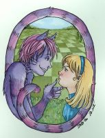 Alice and the Cat by Jb-612