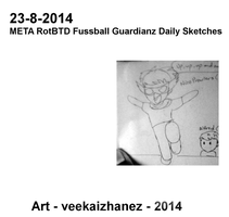 MRotBTDFG 2014 Daily Sketch 8-23 by veekaizhanez