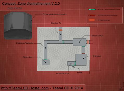 TL2D:Project UDK: Concept TrainingRoom V2.1 by TeamL2DCompany