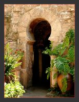 Entrance To The Arab Baths In Palma by skarzynscy
