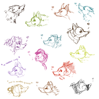 Headshot requests first batch by Lachilo