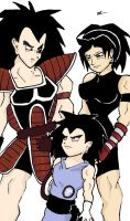 DBZ++Family by Akuchi-Nobara