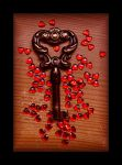The Key to Love by Forestina-Fotos