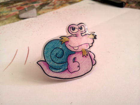 Escargoon Badge by TopperHay