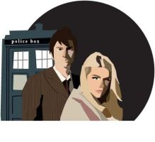 doctor and rose by mojo01