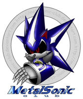 Metal Sonic logo by raikoufighter