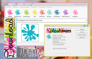Theme SplashColors WinRar by iBeHappyRawr