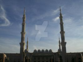 MASJID NABAWI by diimaaz