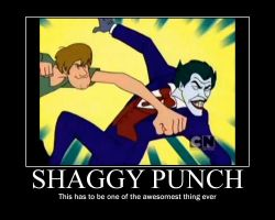 Shaggy Punch Motivational by Sonic-chaos