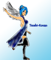 Wings of an Angel-Konan by Arashi-Hikari