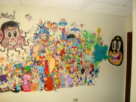 the otherside of the mural by Makinita