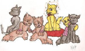 ouran dogs by dragonwarriorsaba