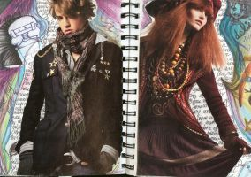 Graphic Diary-- He and She by Moruto