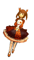 Randomly Choco's Lolita Dress by ReenaCat