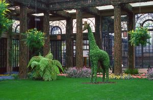 Giraffe Topiary by FauxHead