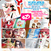 YUM!JINKA Artbook ORDERS: OPEN by Poiizu