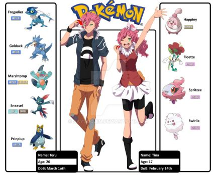 ::Pokemon:: new oc's by sayuuchin