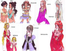 girls of westeros2 by AlexielApril