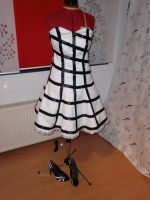 Ozdust black and white dress by CheshireCat1