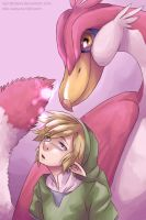 [TLoZ] A Fairy comes out of the bottle by Edo--sama