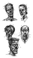Random Zombies by Hamdoggz