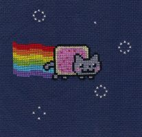 Nyan Cat by Awenmir