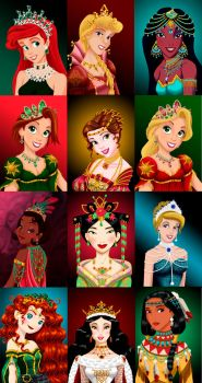 Royal Jewels Collection by MissMikopete