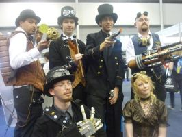 Steampunks Assemble by vincents-child