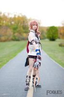 FFXIII - You'll have to go through me by SailorAnime