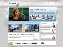 nestle web v1 by feartox