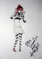 Rappin' Sam - signed by K.Flay by Dark-Pen