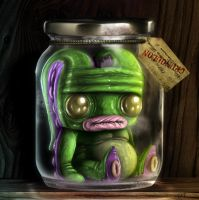 UNCLE HOOFY SASONAX'S PICKLED ABOMINATIONS NO.3 by Cosmic-Brainfart