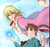 HOWL's Moving Castle by Waenaglariel