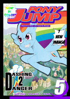 Pony Jump Vol 1, Issue 5 by Septic-Art
