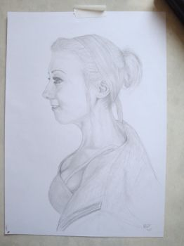 SKETCHY!  A3 #graphite #drawing by NoBODYENGLAND