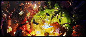 HeartStone signature. by snakeARTWORK