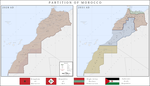Partition of Morocco by SoaringAven