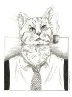 40's CAT by Little-Bluefish