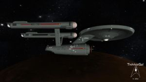 Captain's log Stardate 1513.1 by TrekkieGal