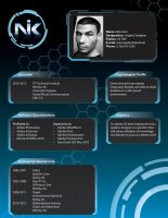 Design Resume by darthblinx
