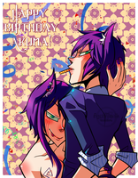 Happy Birthday Akuma by Krooked-Glasses