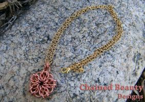 Copper Celtic Star by ChainedBeauty