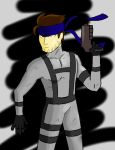 Solid Snake by Retro-Eternity