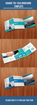 Square-tri-fold-Corporate-Brochure by DGTouch