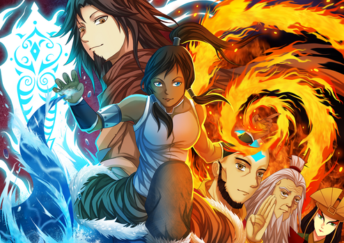 avatar -  the legend of korra by gin-1994