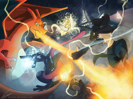 Super Smash POKEMON! by ShawnnL