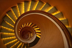 Spiral Stairs by josgoh