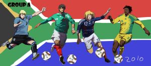Group A South Africa 2010 by Wa-yewta